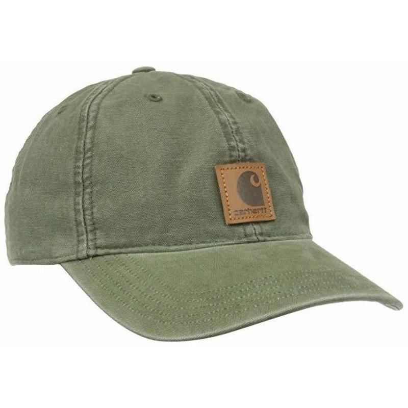 Carhartt 【カーハート】 Odessa cap 帽子 アーミー グリーン