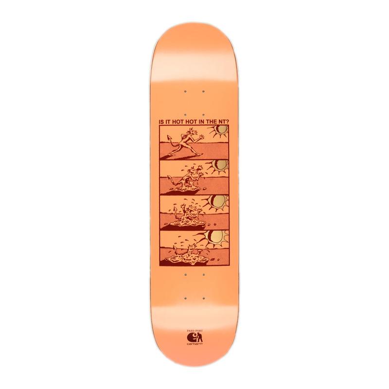 PASS~PORT【 パスポート】x Carhartt WIP【カーハート】Hot Hot Board  DECK デッキ 板 8インチ