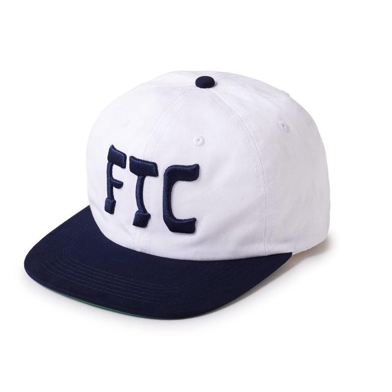 FTC【 エフティーシー】HASSAN 6 PANEL CAP WHITE キャップ ホワイト