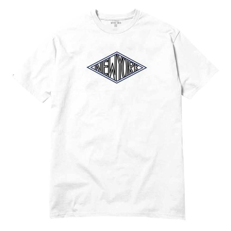 HOTELBLUE【 ホテルブルー】DIAMOND TEE WHITE Tシャツ ホワイト