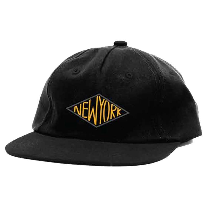 HOTELBLUE【 ホテルブルー】DIAMOND  HAT BLACK CAP キャップ ブラック