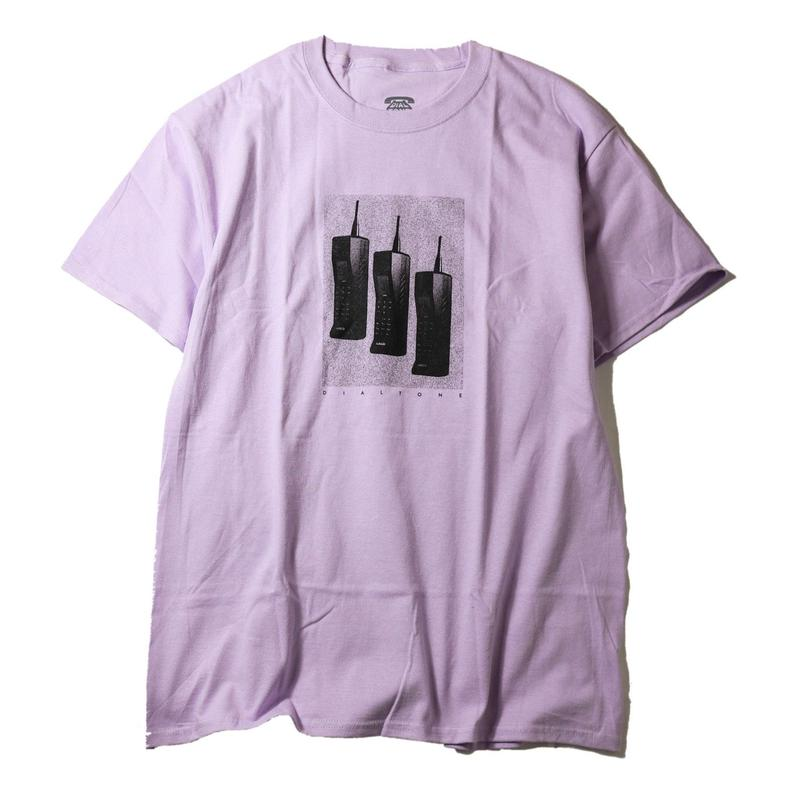 DIAL TONE【 ダイヤルトーン】Dial Tone Wheel Co Zach Morris Tee  Tシャツ ランベンダー