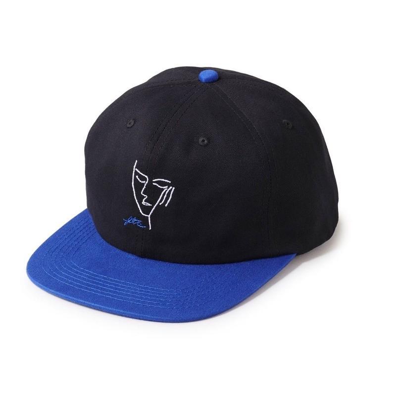 FTC【 エフティーシー】SIGH 6 PANEL CAP BLACK キャップ ブラック