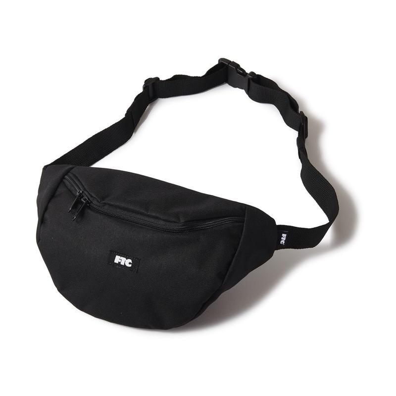 FTC【 エフティーシー】WAIST BAG BLACK ウェストバッグ ブラック