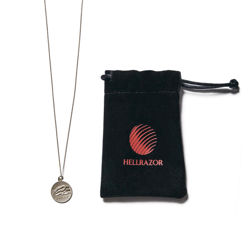 HELLRAZOR【 ヘルレイザー】NEXT DIMENTION 10K NECKLACE GOLD ネックレス 10K ゴールド