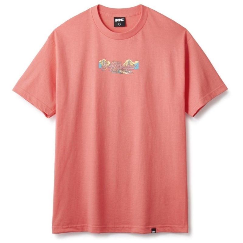 FTC【 エフティーシー】SAN FRANCISCO TEE   Tシャツ コーラル