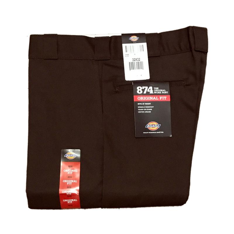 Dickies【 ディッキーズ】874 WORK PANTS BROWN ワークパンツ  ブラウン