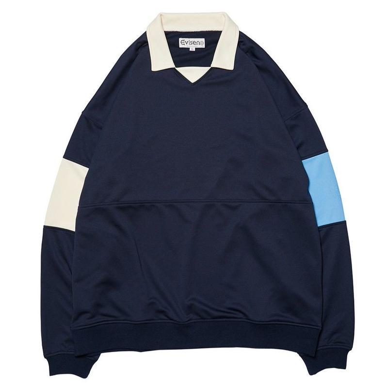 EVISEN【 えびせん】80'S CLUB SHIRT NAVY クラブシャツ ネイビー