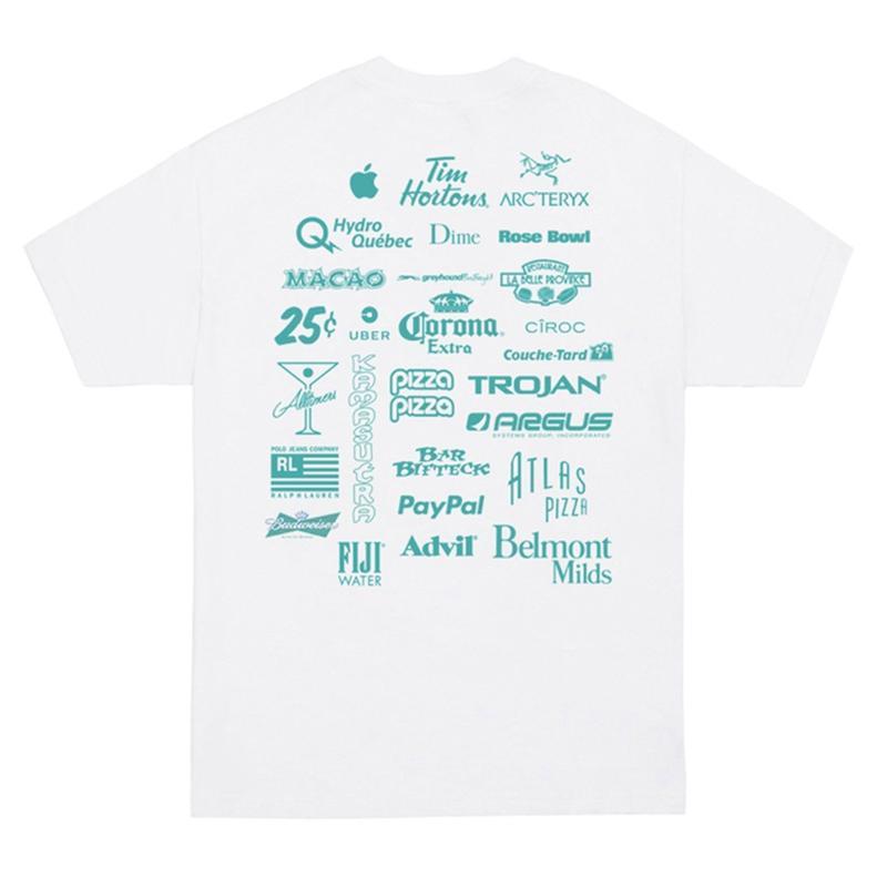 Classic Grip【 クラシックグリップ】Sponser Tee  Tシャツ ホワイト