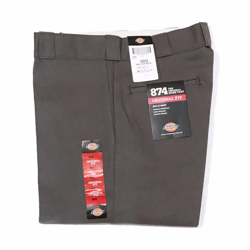 Dickies【 ディッキーズ】874 WORK PANTS CHARCOAL ワークパンツ チャコール