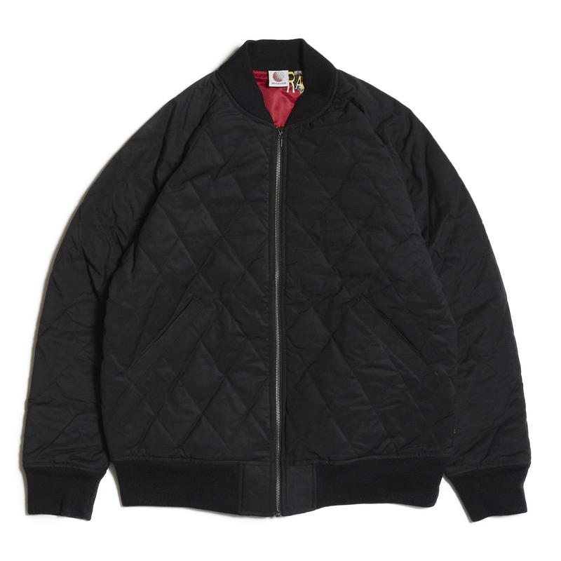HELLRAZOR【 ヘルレイザー】NYLON QUILTED MA1 JACKET ナイロン ジャケット