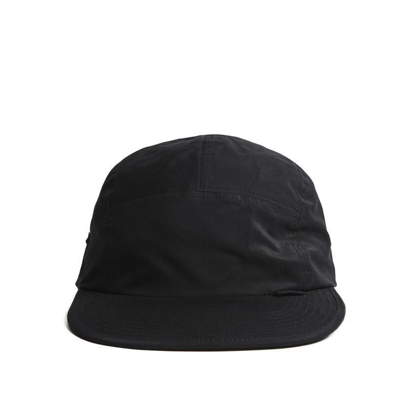 HELLRAZOR【 ヘルレイザー】Nylon Solid Camp Cap  BLACK キャップ 帽子 ブラック