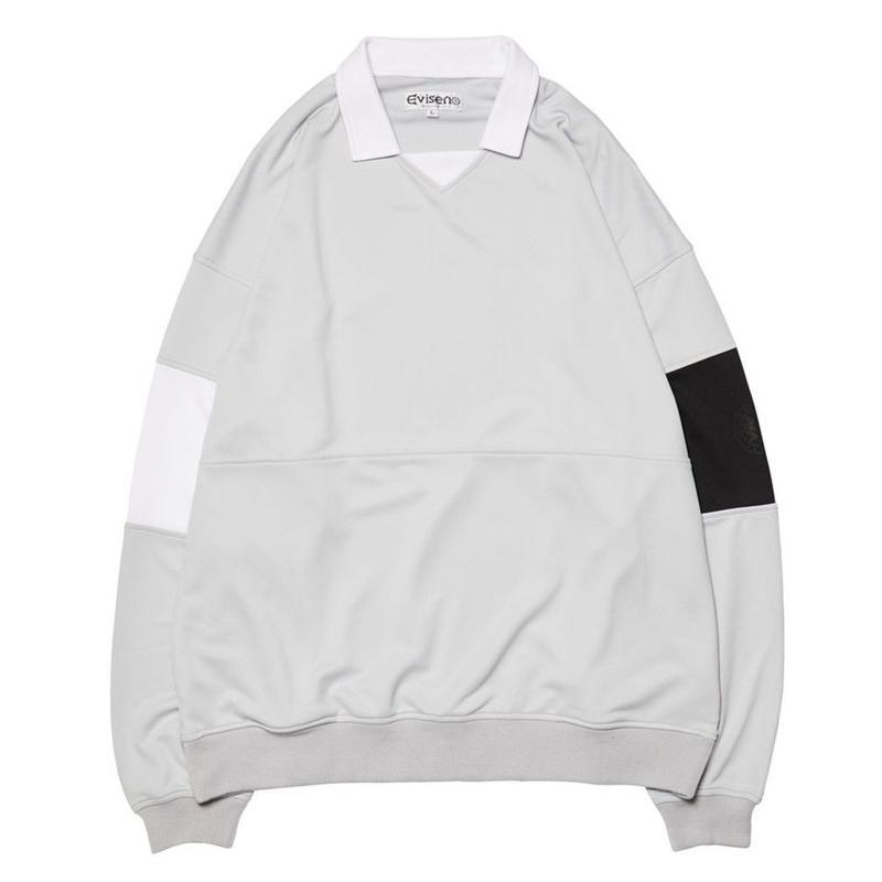 EVISEN【 えびせん】80'S CLUB SHIRT GREY クラブシャツ グレー