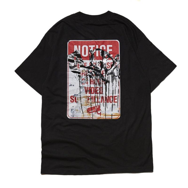 HELLRAZOR【 ヘルレイザー】HELLRAZOR【 ヘルレイザー】 X RUSTO SURVEILLANCE SHIRT BLACK Tシャツ ブラック