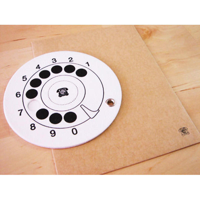 黒電話ダイヤルカード