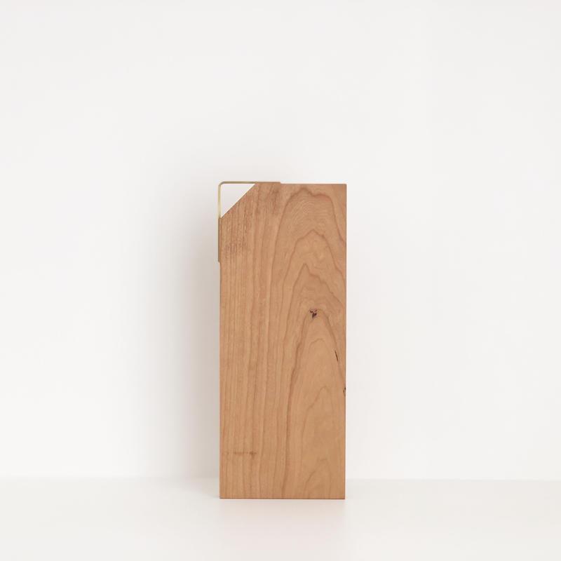 カッティングボード(片側三角形/チェリー)
