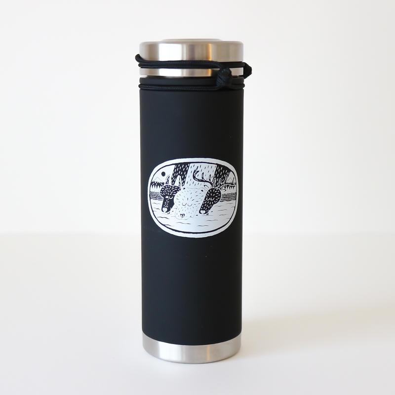 ウォーターボトル(保温保冷/BK)