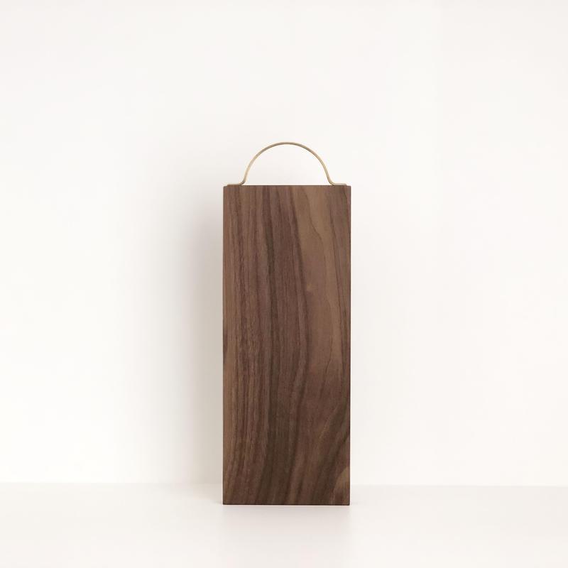 カッティングボード(半円形/ウォールナット)