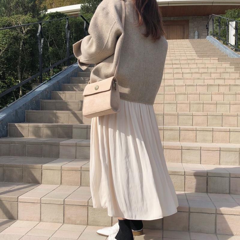 square bag  /Ivory
