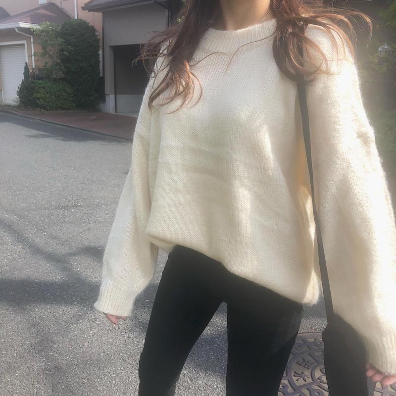 Candy knit  / Ivory