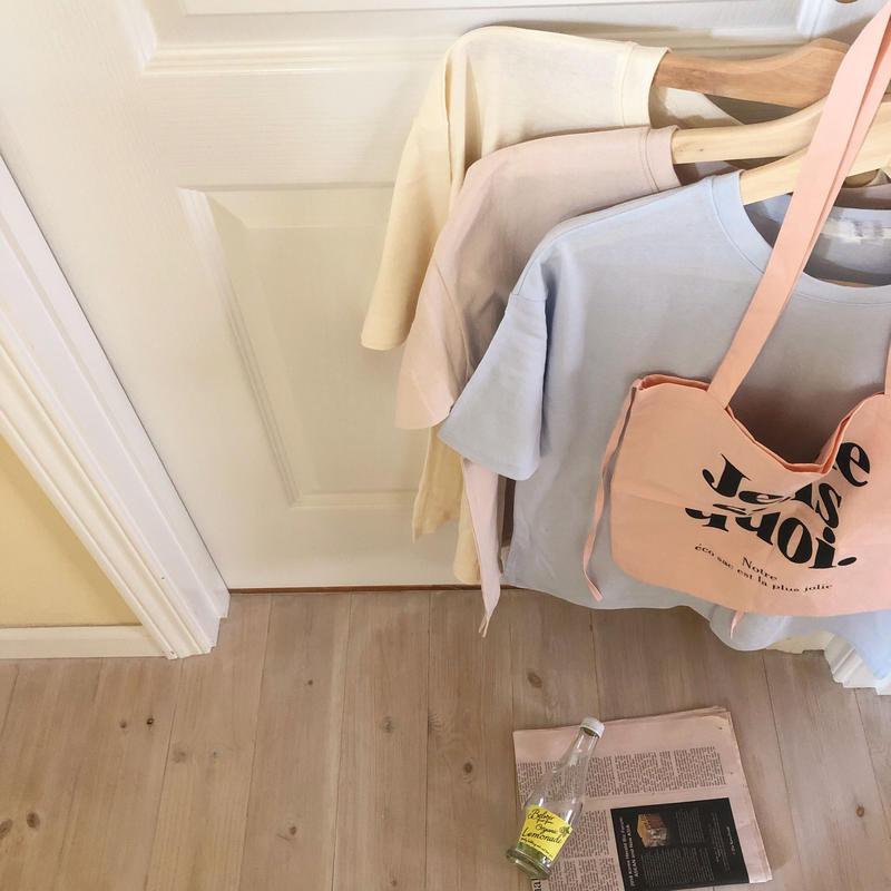 pastel Tshirt / 3color