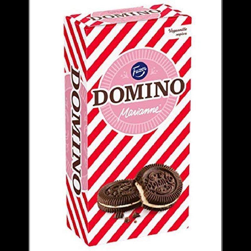 Fazer ドミノ マリアンネ 味 ペッパーミント クッキー 350g 8箱セット (2.8kg) フィンランドのクッキーです