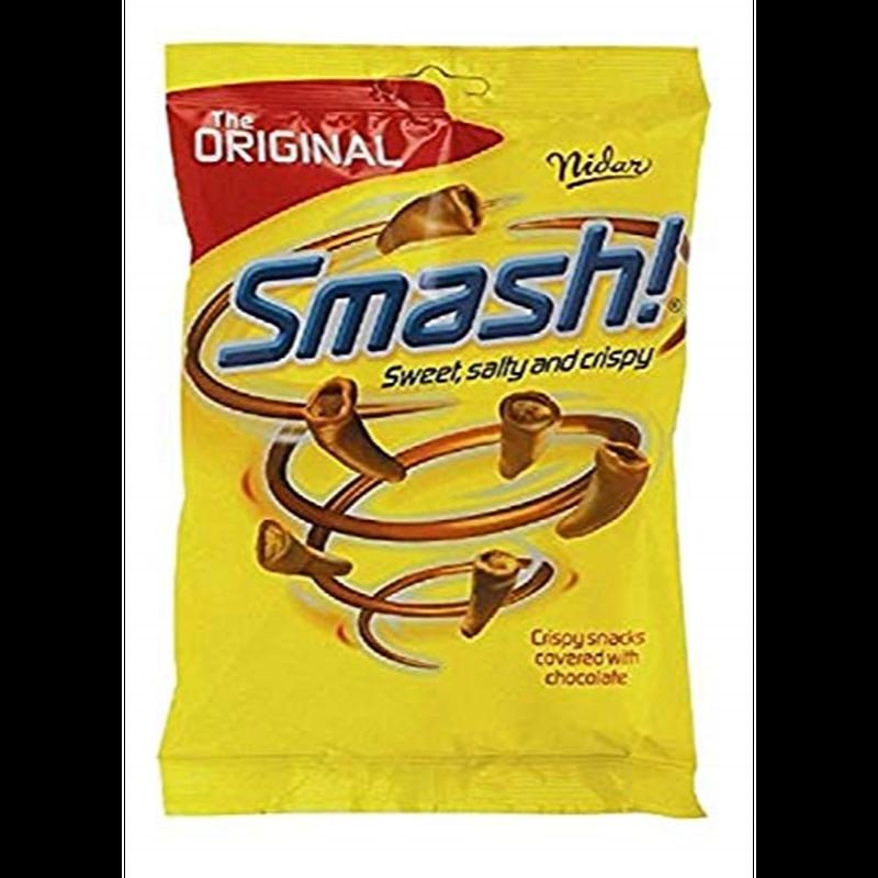 Nidar Smash ニダル スマッシュ スコーン チョコレート 100g x 12袋 ノルゥエーのお馴染みのチョコレートです