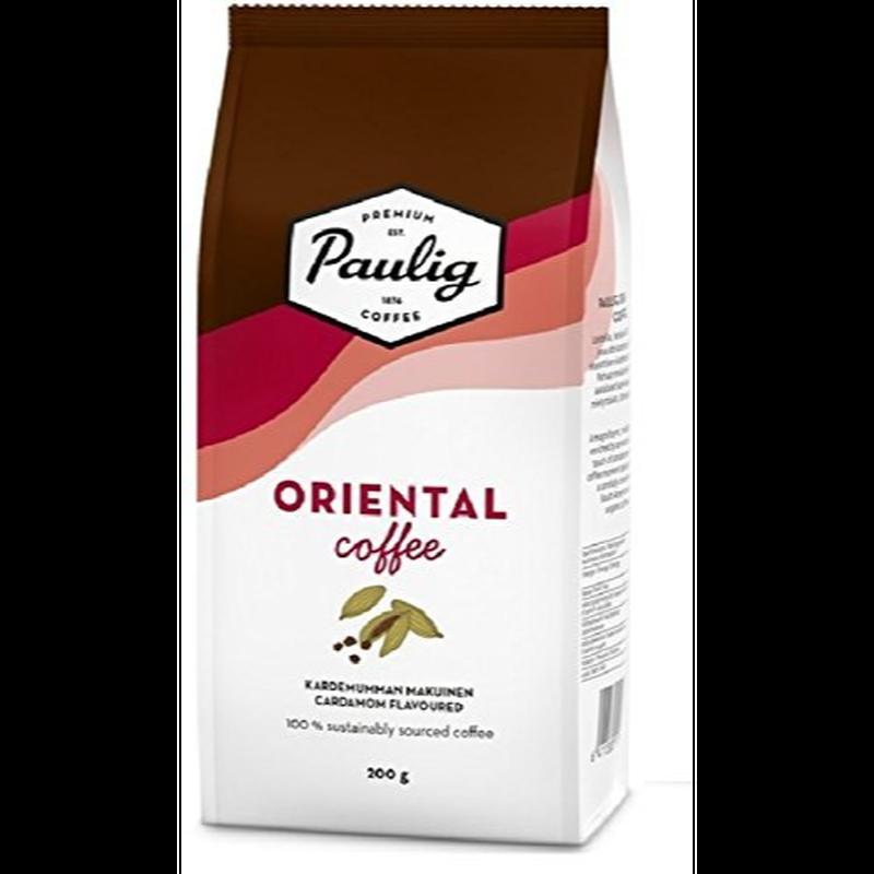 パウリグコーヒー(Paulig Coffee) オリエンタル コーヒー カルダモン フレーバー 200g入り×4袋セット フィンランドのコーヒーです
