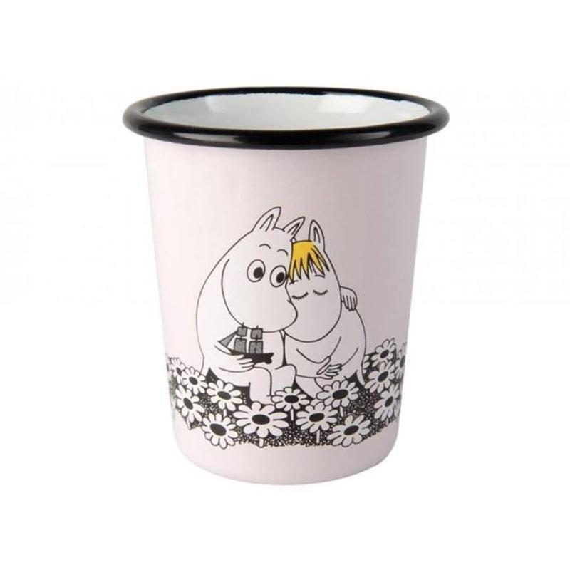 Muurla (ムールラ) ムーミン ホーローカップ フォーエバー ラブ4DL