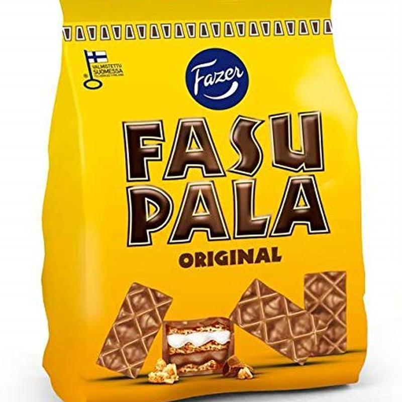 Fazer ファスパラ オリジナル味 ウエハース 215 g 1箱セット フィンランドのおかしです