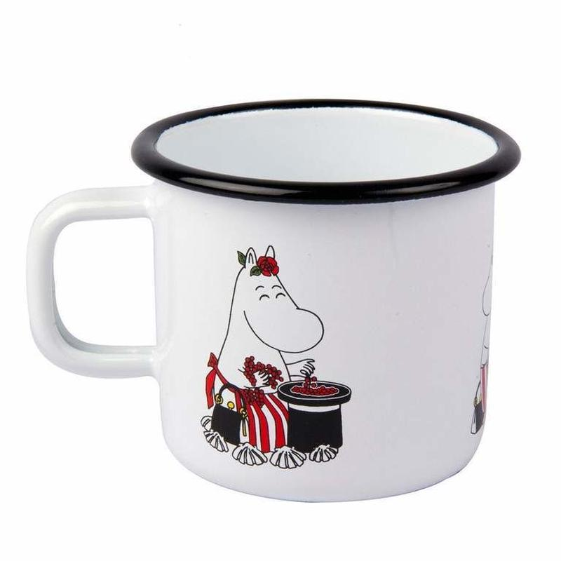 Muurla (ムールラ)  レトロ   レトロ  ムーミン ホーロー マグカップ ムーミンママ 3,7DL
