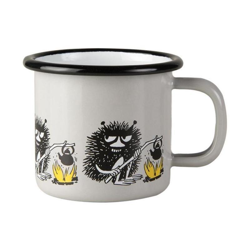 Muurla (ムールラ) ムーミン フレンズ ホーローマグカップ スティンキー 1,5DL