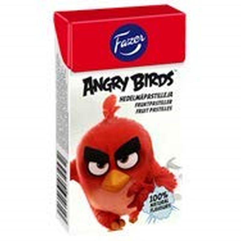 Fazer アングリー バードフルーツ グミ 40g×1箱  Angry Birds フィンランドのお菓子です