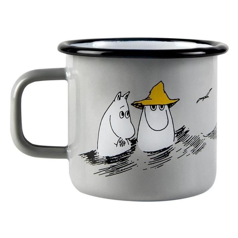 Muurla (ムールラ) ムーミン ホーロー マグカップ FRIENDS 3,7DL