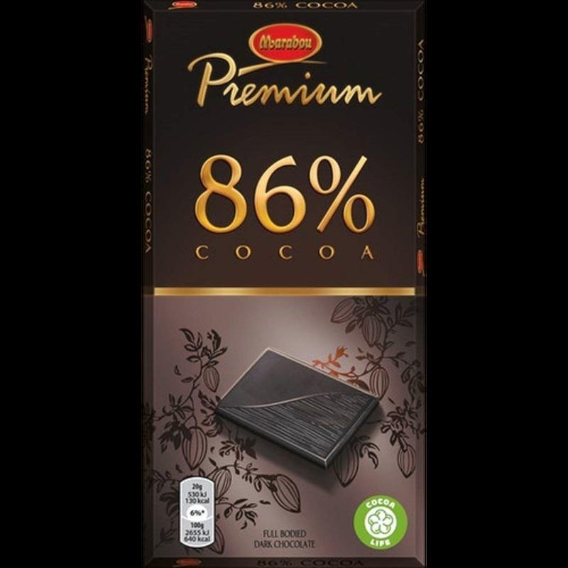 Marabou マラボウ プレミアム ダーク 板チョコレート 100g 86% ココア スゥエーデンのチョコレートです