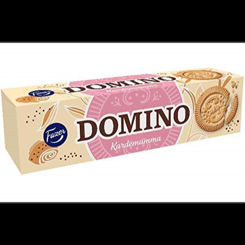 Fazer ドミノ カナダモン味 クッキー 175 g 12箱セット (2.1 kg) フィンランドのクッキーです