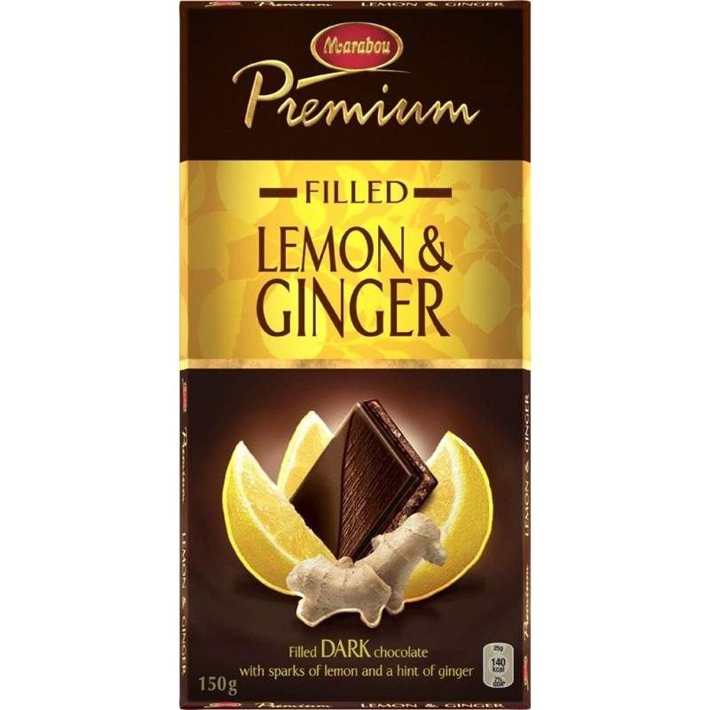 Marabou マラボウ プレミアム レモン 板チョコレート 150 g スゥエーデンのチョコレートです