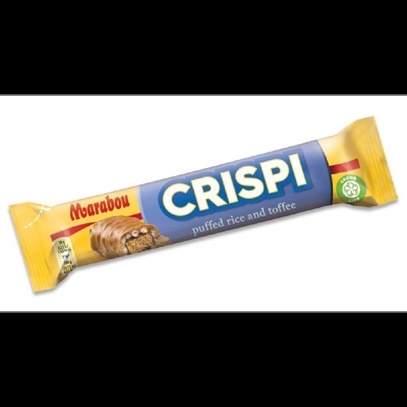Marabou マラボウ Crisp!チョコレートバー 60g ×3本 (180g) スゥエーデンのチョコレートです