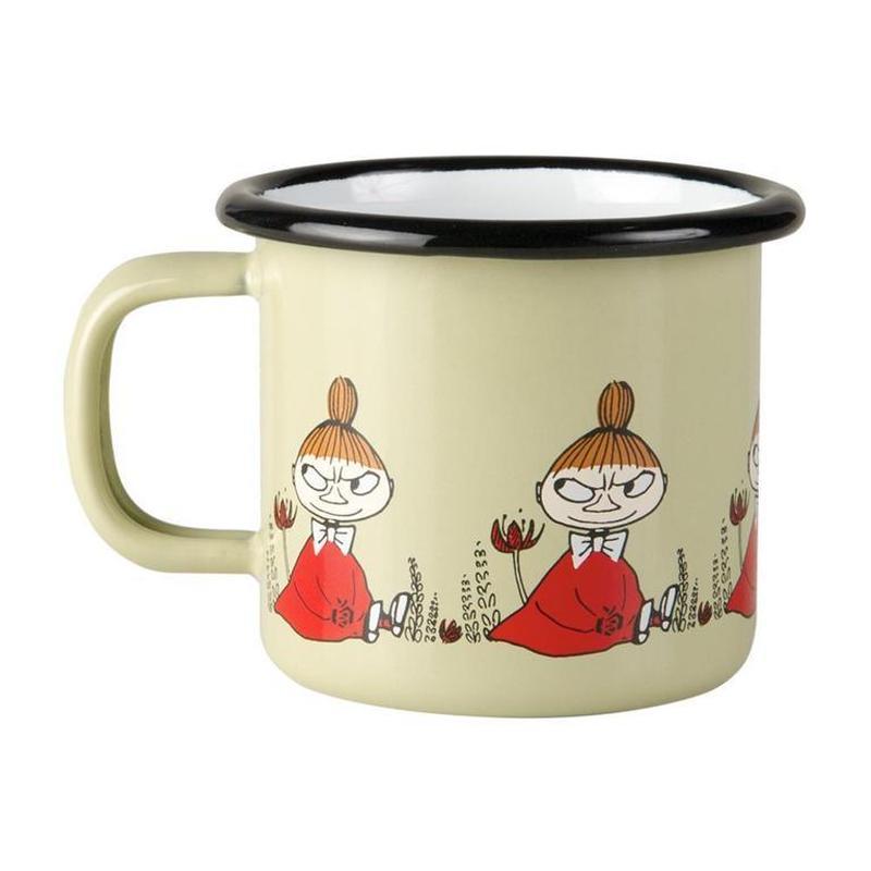Muurla (ムールラ) ムーミン フレンズ ホーローマグカップ リトルミィ 1,5DL