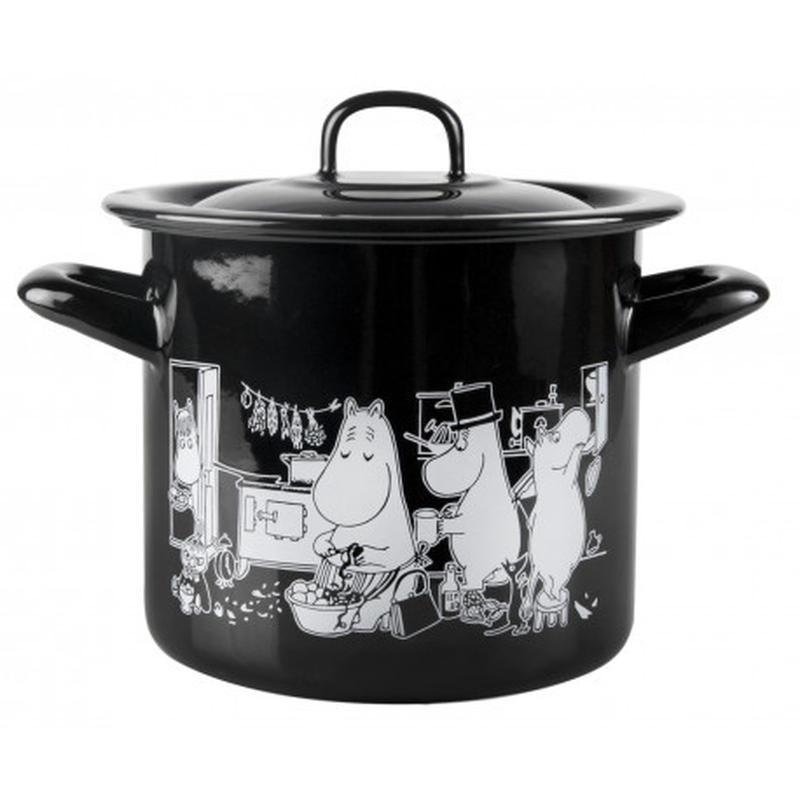 Muurla (ムールラ) ホーロー 鍋 ムーミン キッチン 1.5 L