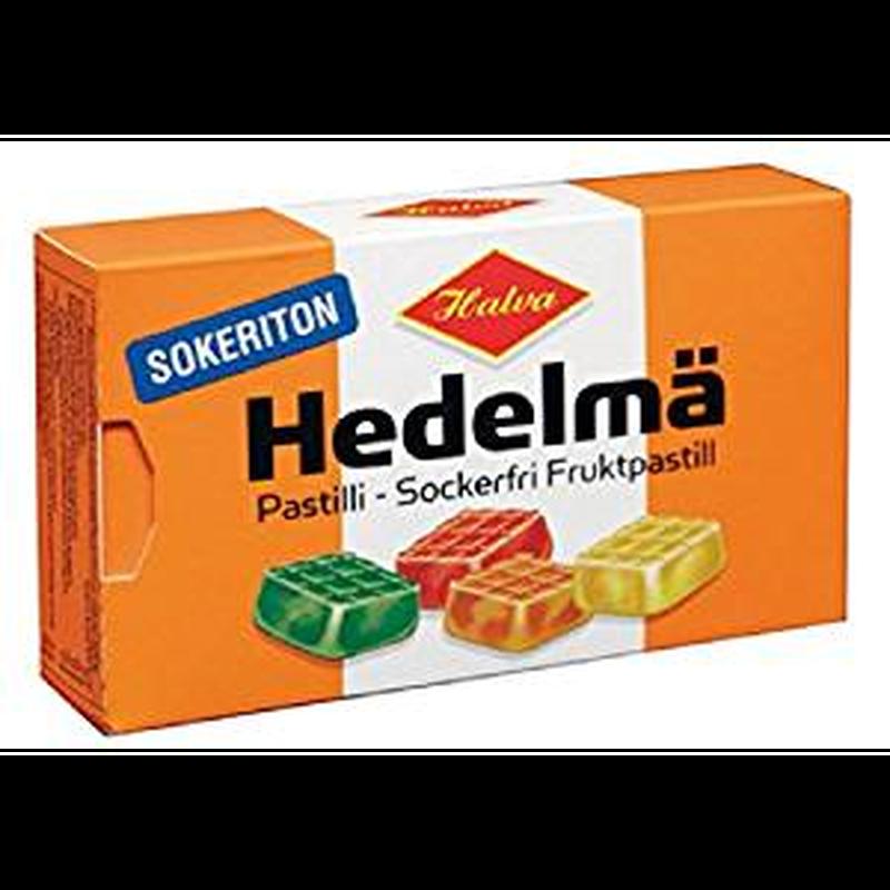 Halva ハルヴァ シュガーフリー フルーツ ハードグミ 34g ×4箱セット フィンランドのお菓子です