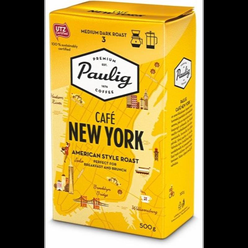 パウリグコーヒー(Paulig Coffee)粉 カフェ ニューヨーク コーヒー 500g入り×1袋 フィンランドのコーヒーです