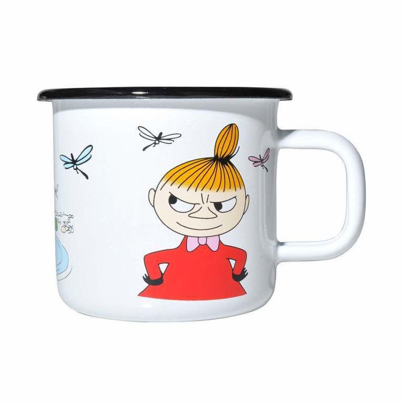 Muurla (ムールラ) ムーミン ホーロー マグカップ COLORS リトルミィ 3,7DL