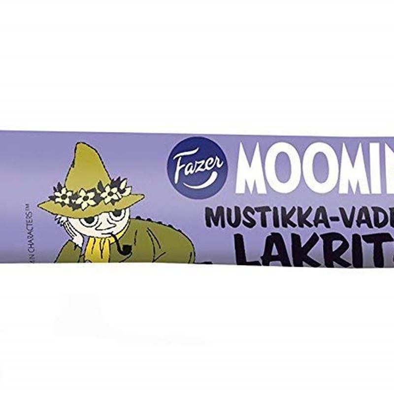 10本セット ムーミン ラクリッツ ブルーベリー&ラズベリー味 Fazer LAKRITS リコリス菓子