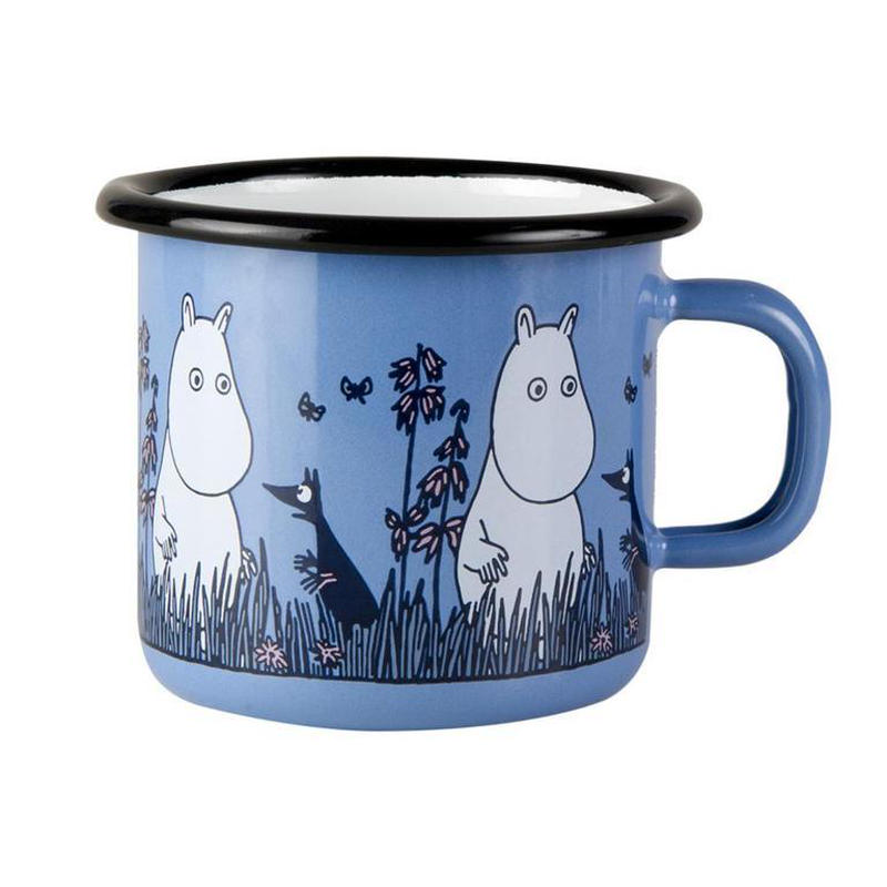 Muurla (ムールラ) ムーミン フレンズ ホーローマグカップ ムーミン 2,5DL