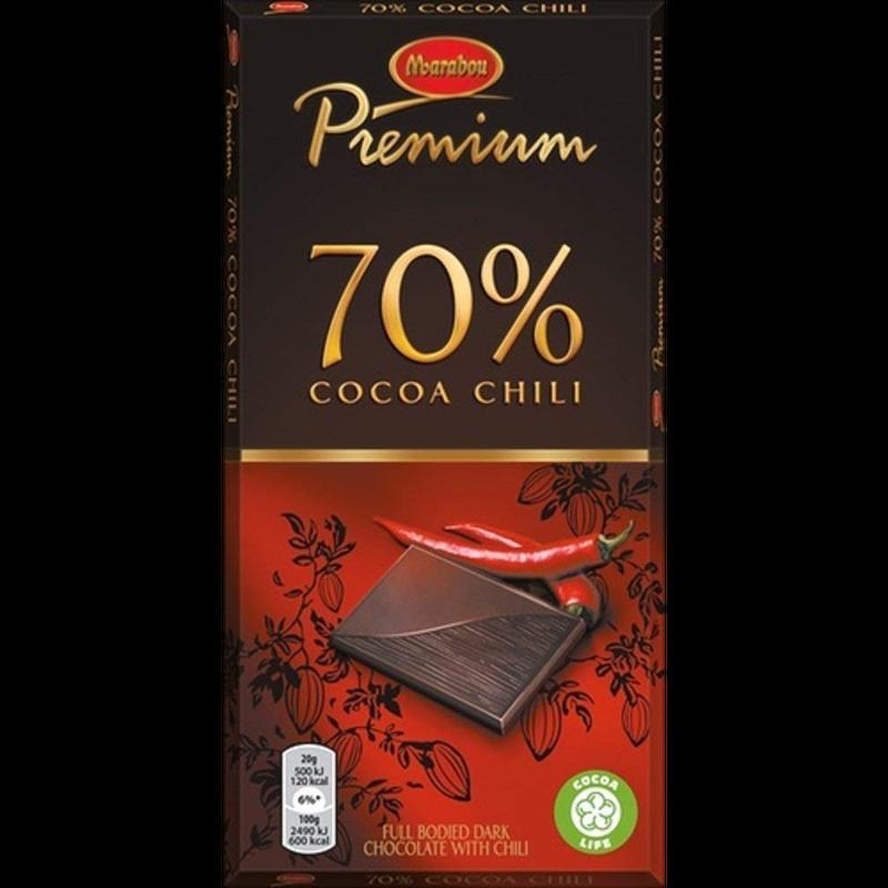 Marabou マラボウ プレミアム チリ味 板チョコレート 100g スゥエーデンのチョコレートです