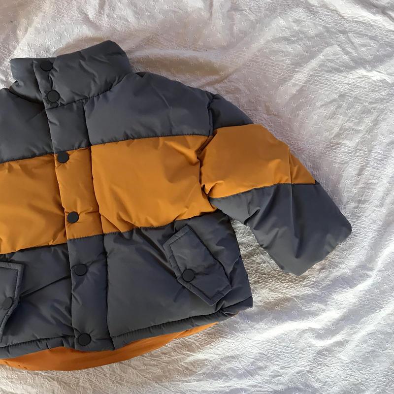 bicolorジャケット