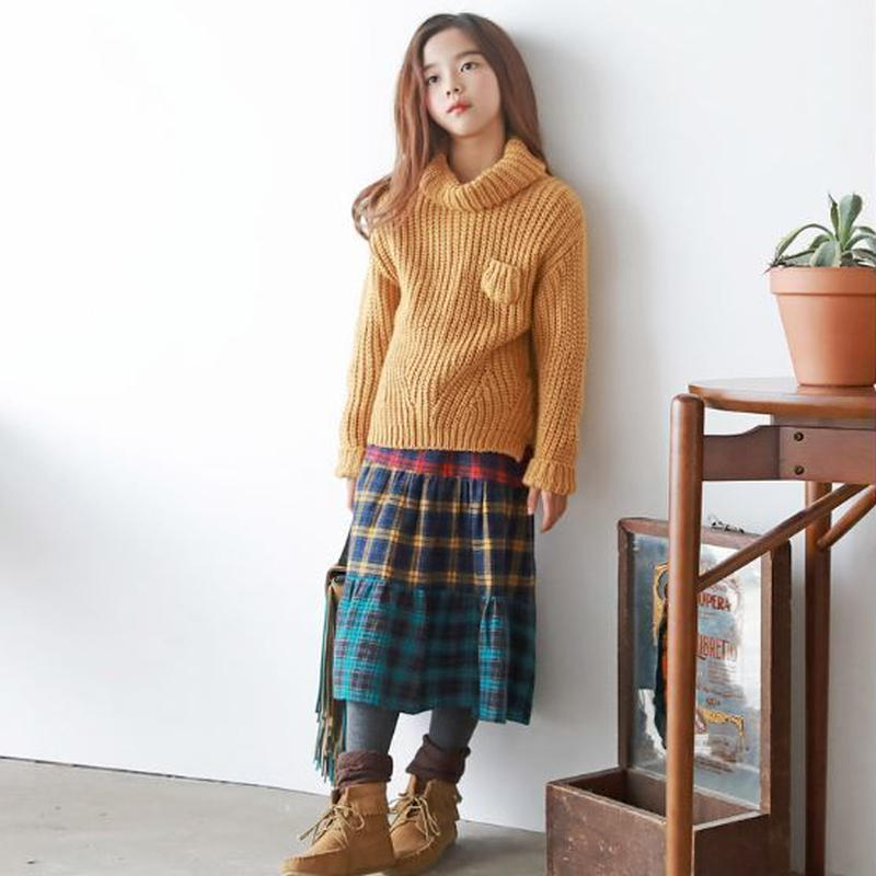 Tiered Skirt(AW18002)