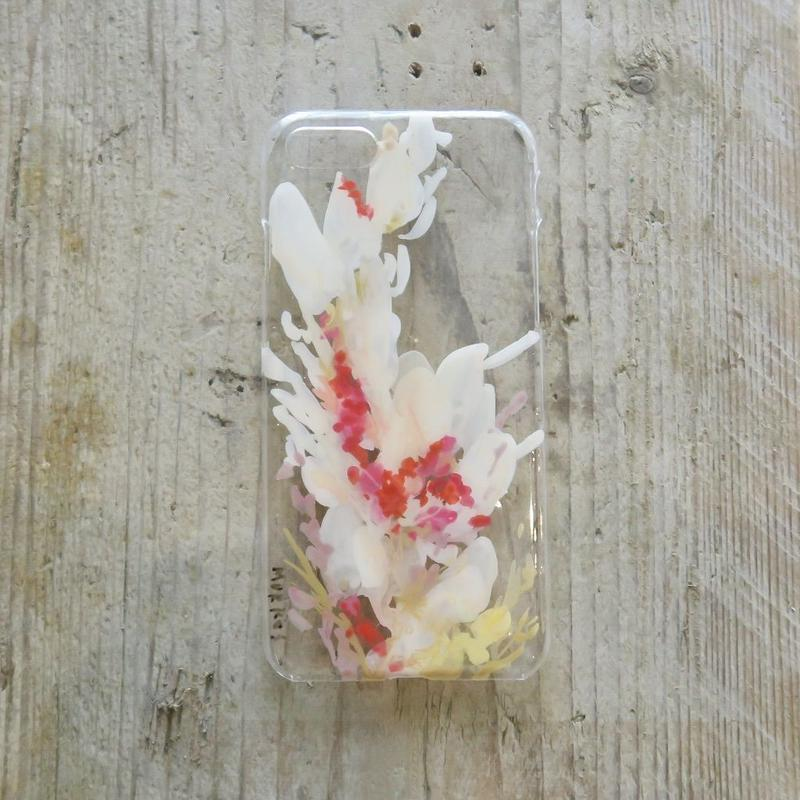 【iPhone8/7 ケース】MURKOS×LUVONICAL flower works 004