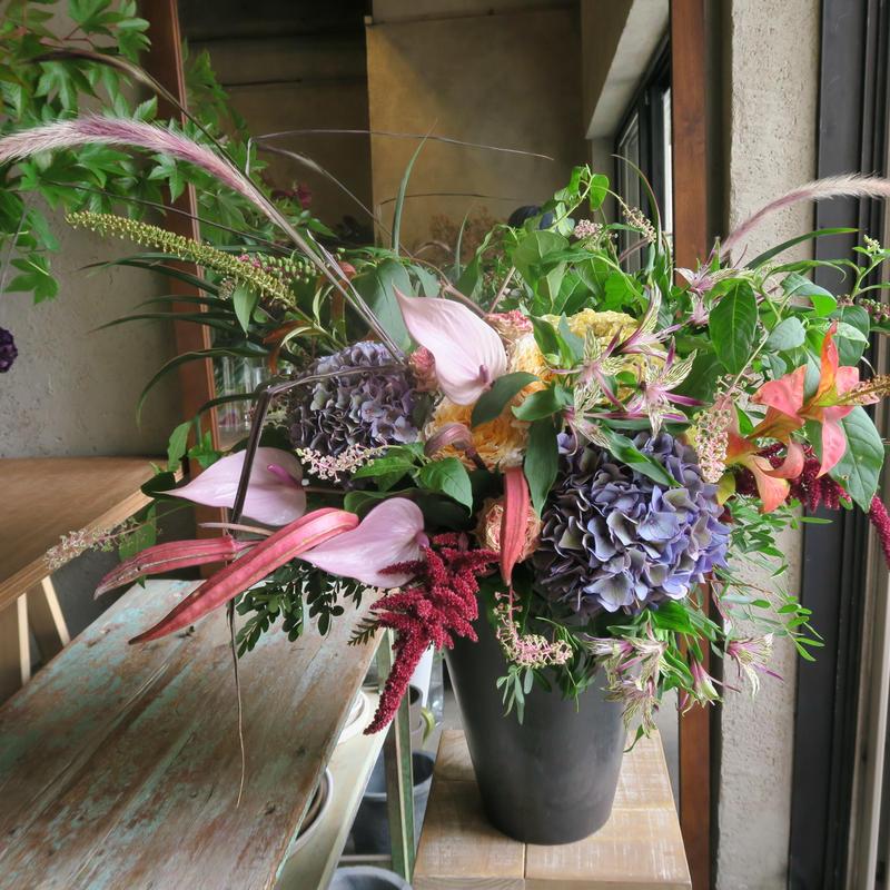 Seasonal arrangement / 秋色LL-1